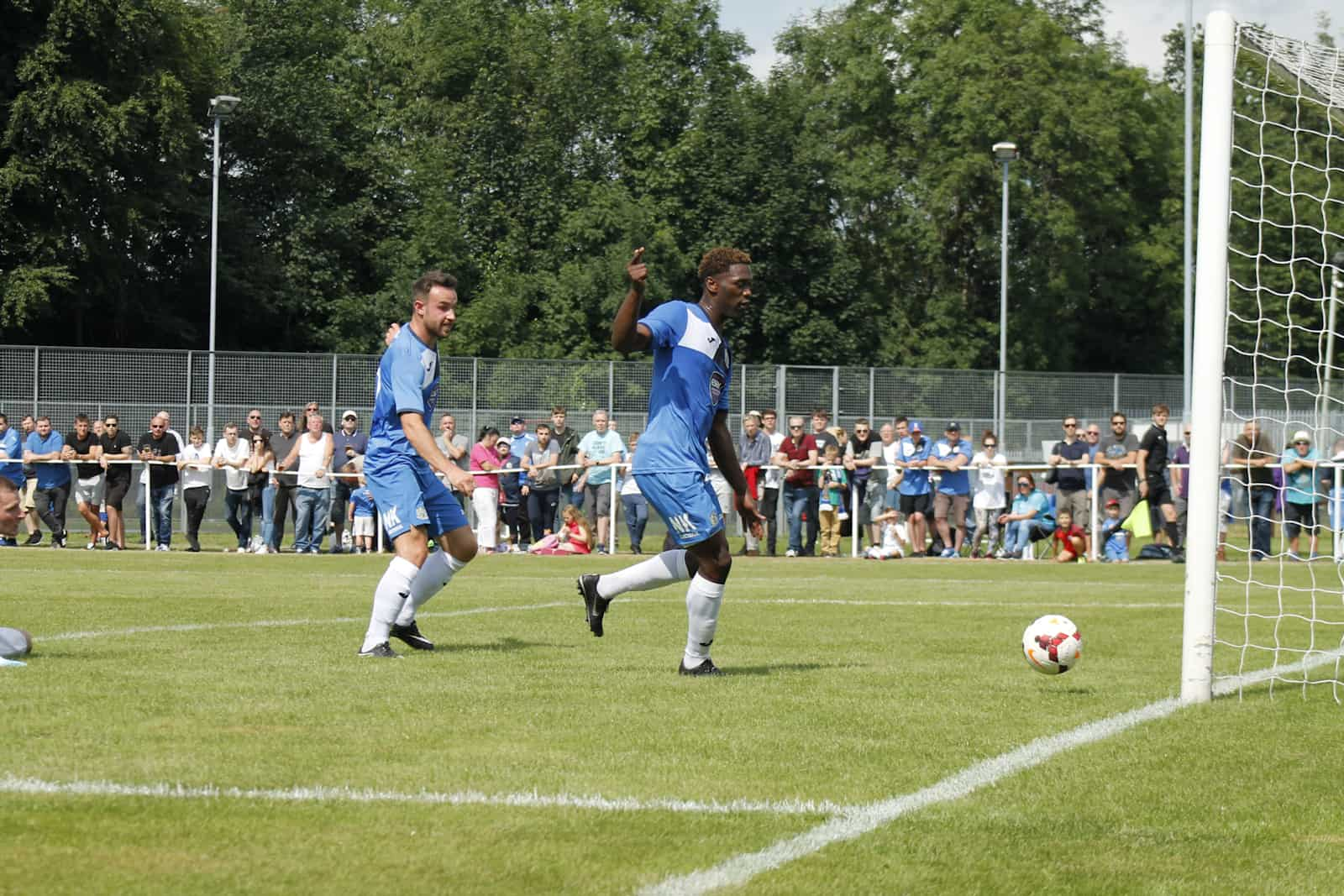 Co Op Advertising >> Video and pictures - Cheadle Heath Nomads 0 - 3 County - Stockport County