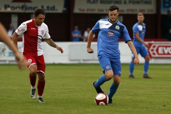 Tom Whitty, Ashton United v Stockport County