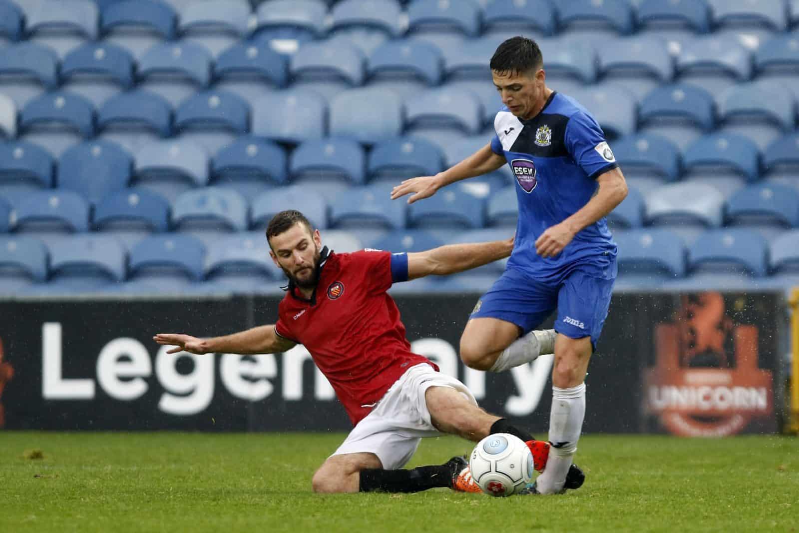 Scott Duxbury, Stockport County 3-3 FC United 30.9.17
