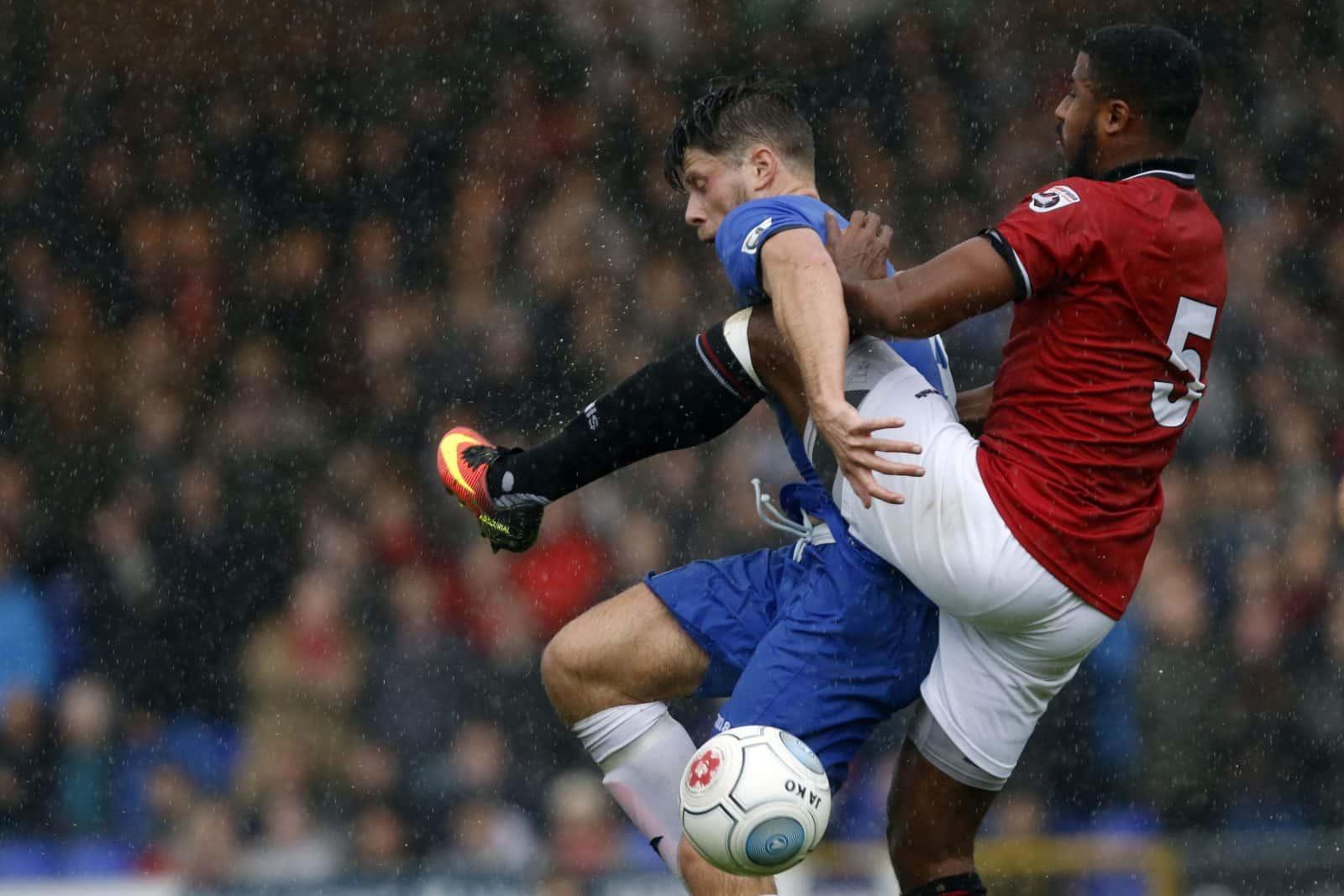 Jason Oswell, Stockport County 3-3 FC United 30.9.17