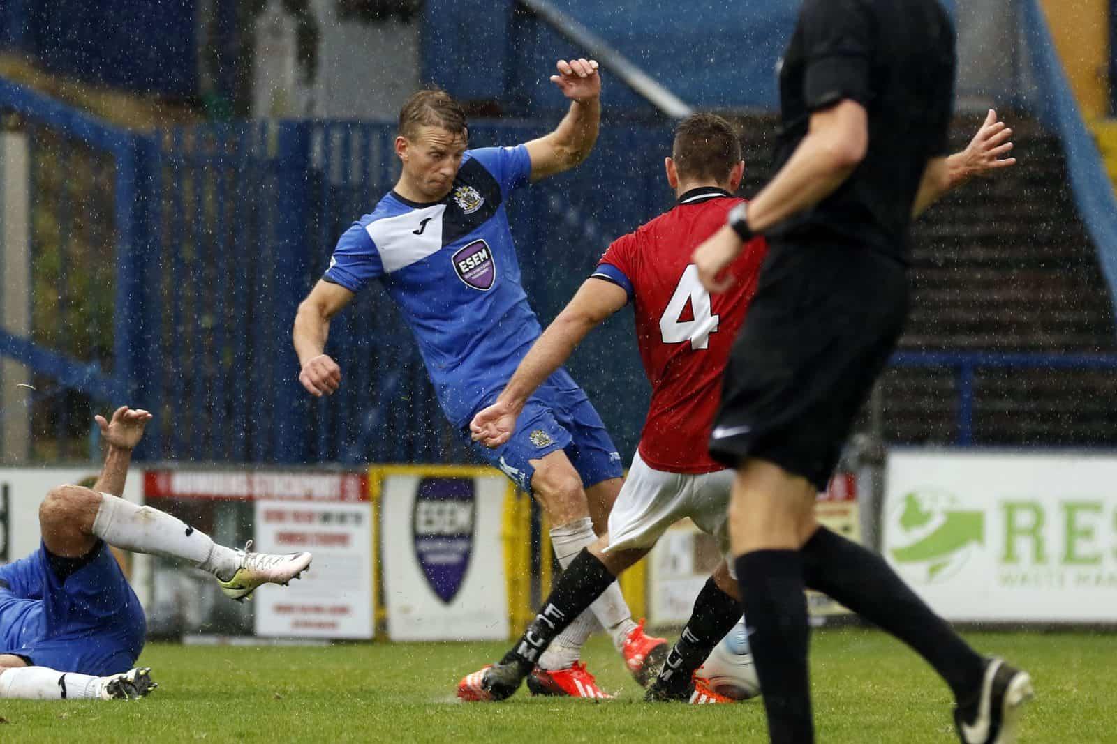 Gary Stopforth, Stockport County 3-3 FC United 30.9.17