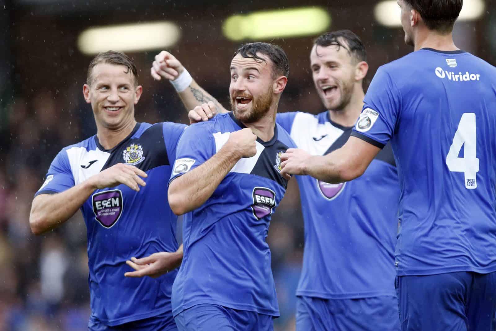 Matty Warburton, Stockport County 3-3 FC United 30.9.17