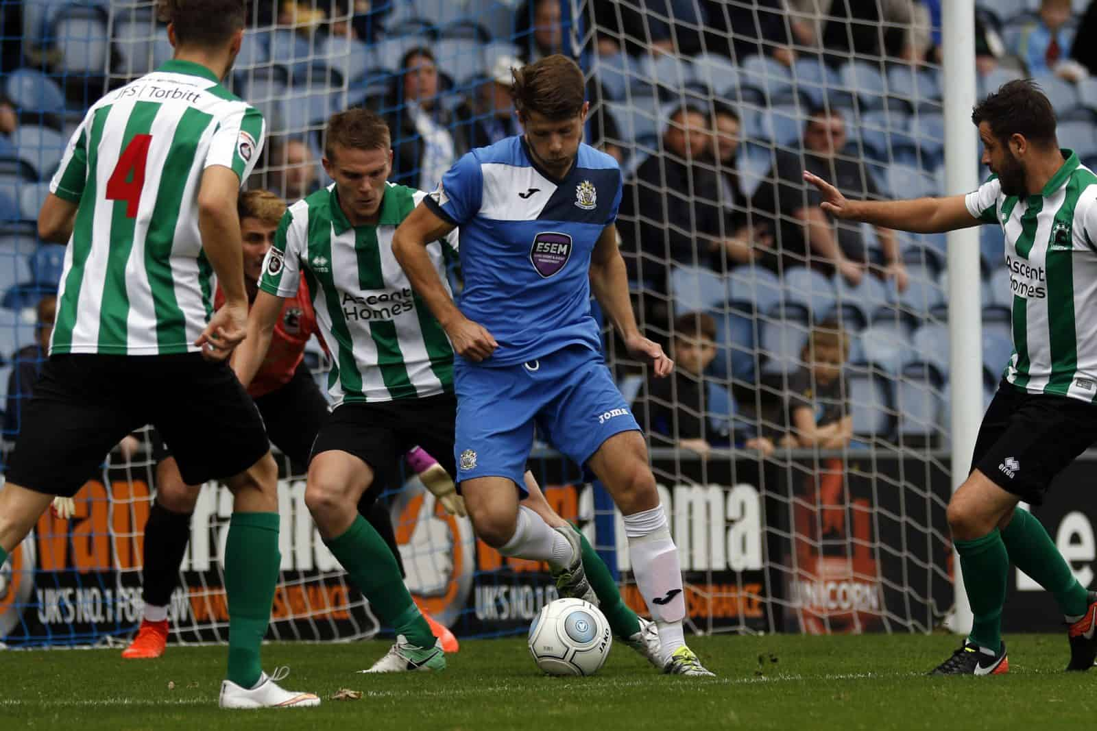 Jason Oswell, Stockport County 1-3 Blyth Spartans 14.10.17