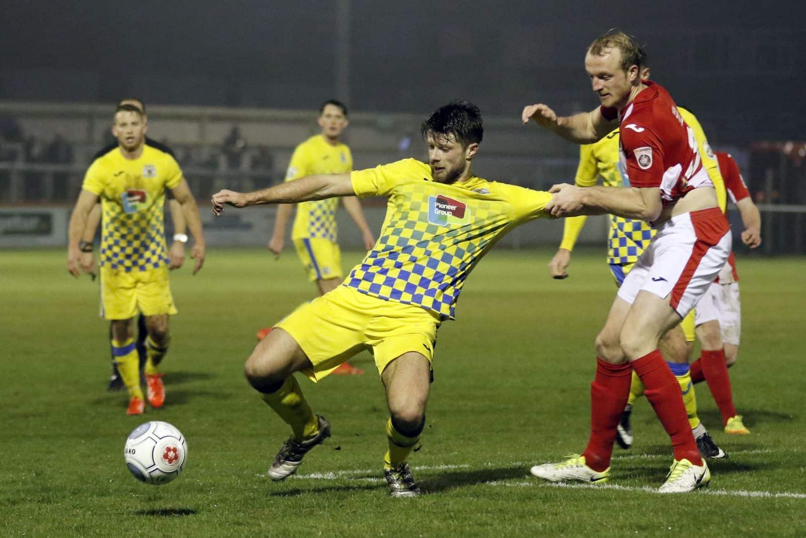 Jason Oswell, Brackley 3-2 Stockport County