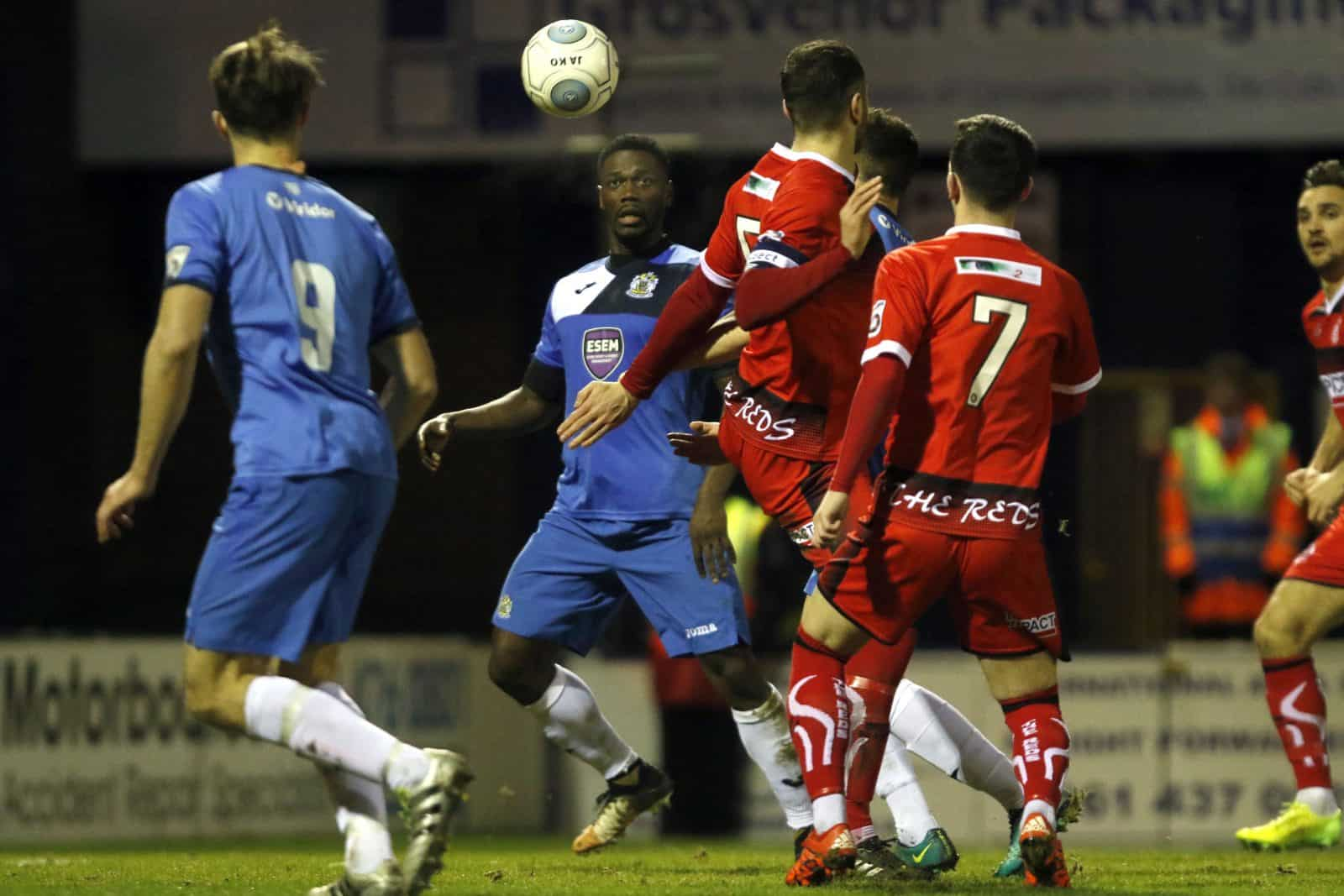 Darren Stephenson, Stockport County 1-0 Alfreton Town