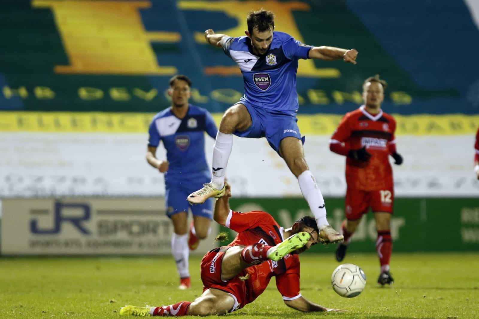 Adam Thomas, Stockport County 1-0 Alfreton Town