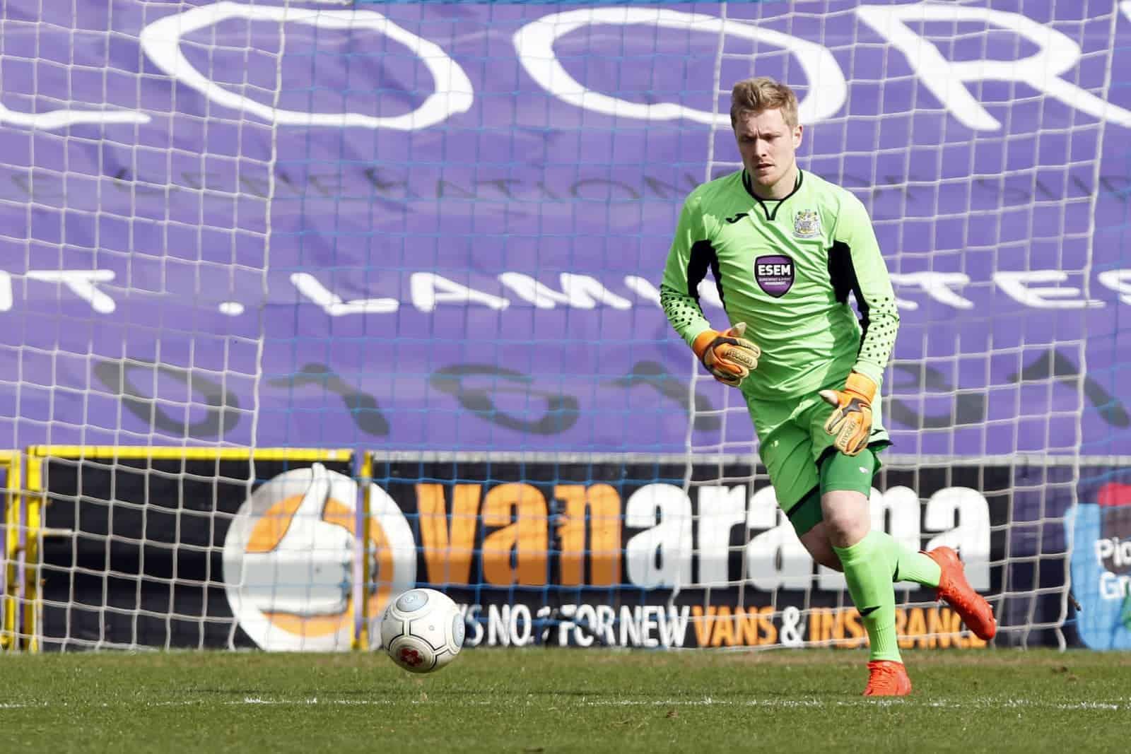 Ian Ormson, Stockport County 1-0 Telford, 14.4.18