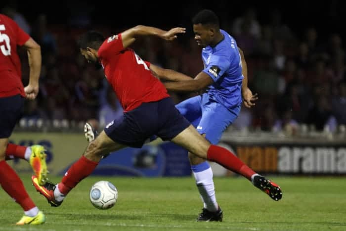 Nyal Bell, York City 1-0 Stockport County, 7.8.18