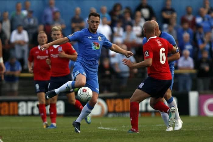 Jordan Keane, York City 1-0 Stockport County, 7.8.18