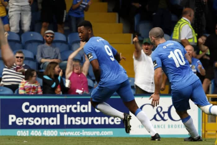 Nyal Bell, Stockport County 3-1 Leamington