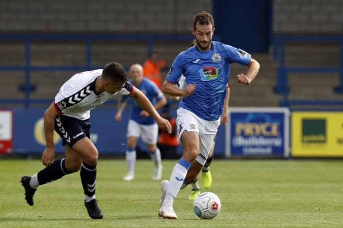 Adam Thomas, Telford Utd FC 1-1 Stockport County