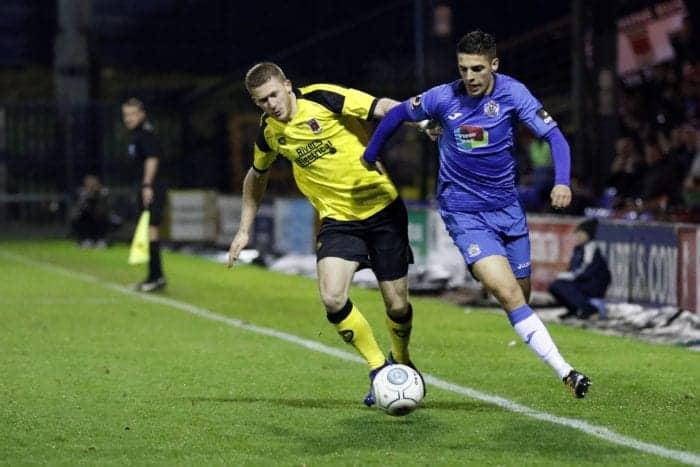 Scott Duxbury. Stockport County 3-0 Chorley, 30.10.18