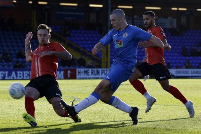 Frank Mulhearn. Stockport County FC 2-2 Nuneaton FC, 271018