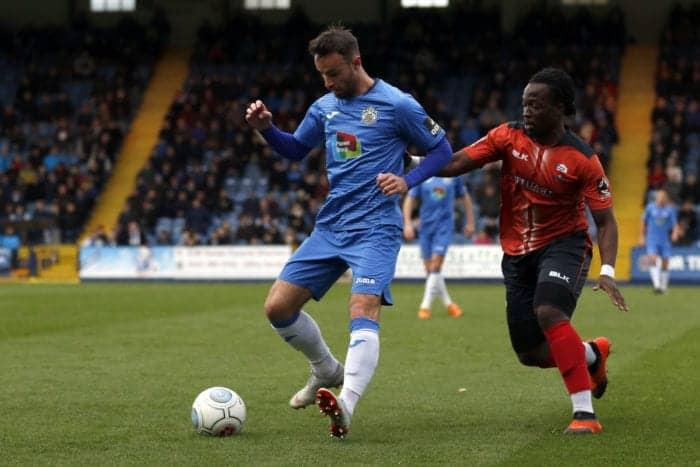 Matty Warburton, Stockport County FC 2-2 Nuneaton FC, 271018