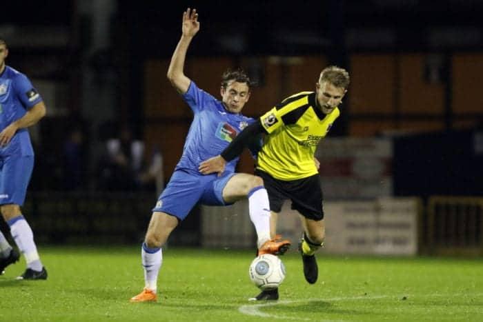 Sam Walker. Stockport County 3-0 Chorley, 30.10.18