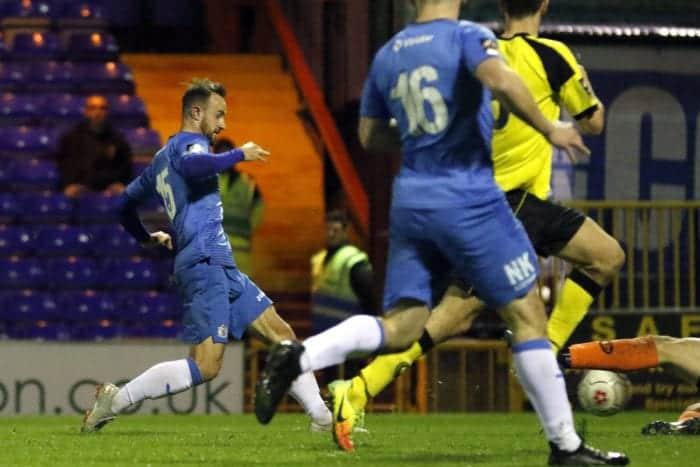 Matty Warburton. Stockport County 3-0 Chorley, 30.10.18