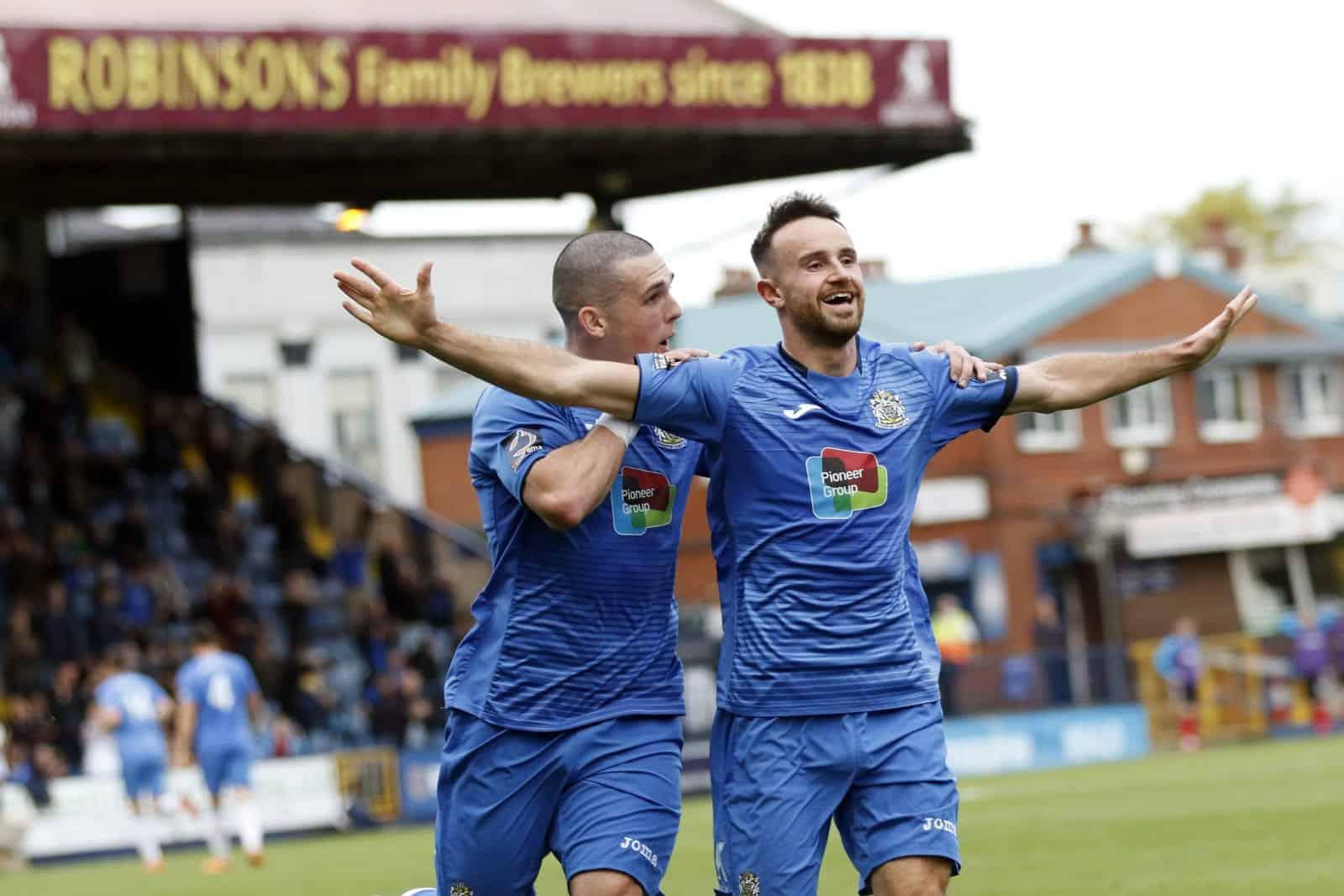 Matty Warburton, Stockport County FC 2-0 Altrincham FC, Emirates FA Cup