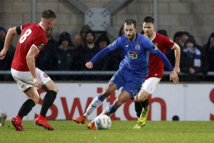 Adam Thomas, FC United 1-2 Stockport County, 26.1.19