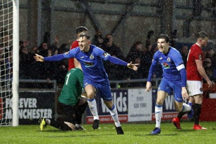 Jamie Stott, FC United 1-2 Stockport County, 26.1.19