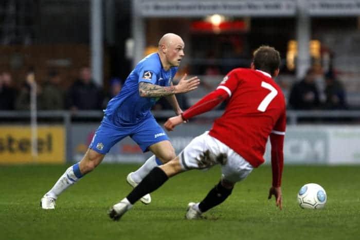 Sam Minihan, FC United 1-2 Stockport County, 26.1.19