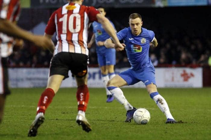 Paul Turnbull. Altrincham FC 0-1 Stockport County FC. Vanarama National League North. 1.1.19