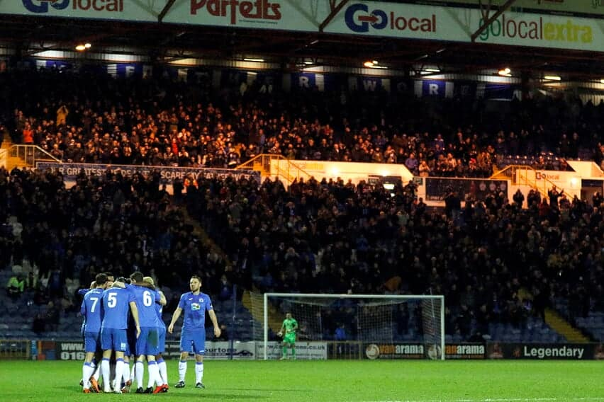 THANKS FANS! - Stockport County