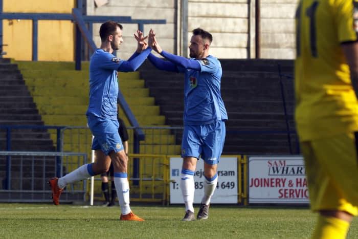 Adam Thomas scores for Stockport_SCFC