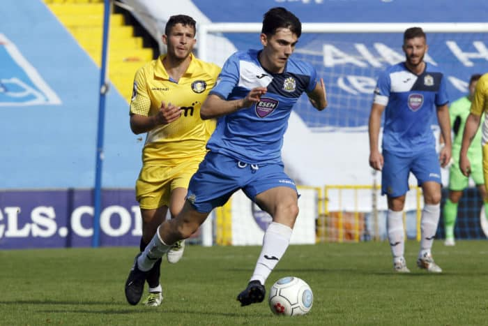 Walker features for Stockport County against Gainsborough